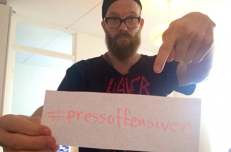 David Sandström Refused #pressoffensiven
